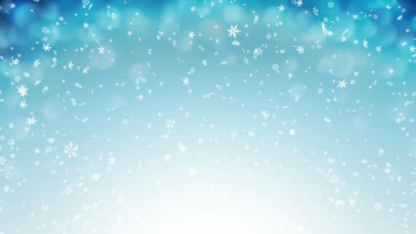 Gentle Christmas Morning Snow - seamless loop  | Shutterstock HD Video #2681501