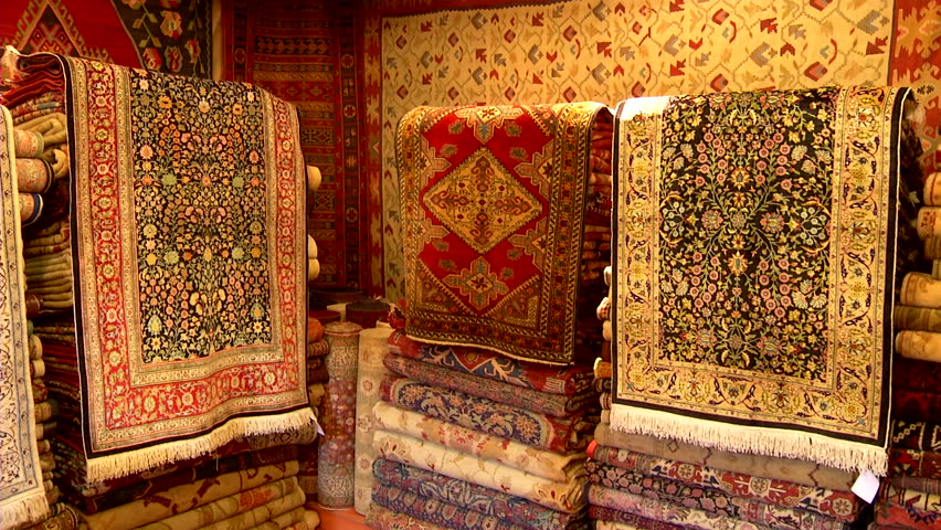 Turkish Carpets Stock Footage Video 2732672 Shutterstock