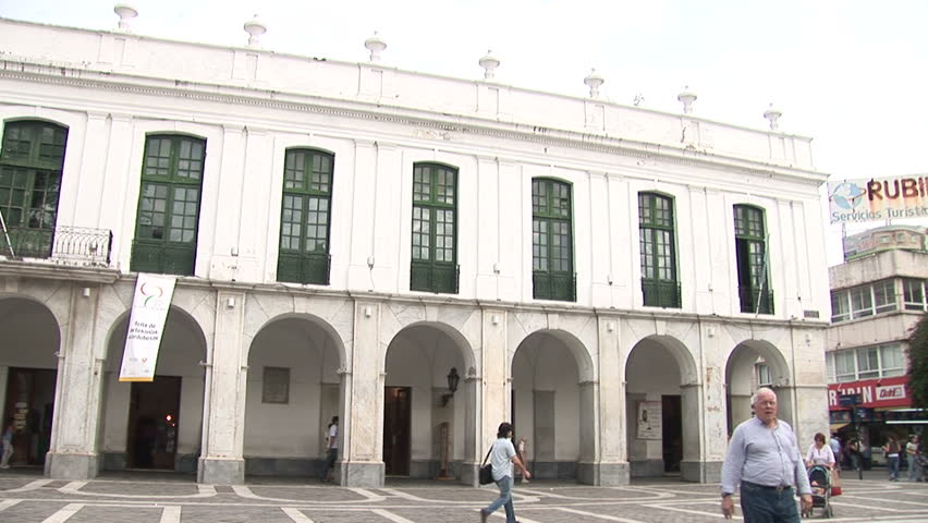 ARGENTINA - MAY 2007: Cirulaxia contra ataca teatro in Cordobo, Argentina - HD stock video clip