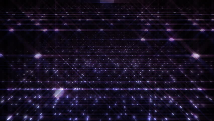 Sparkle Light Space. - HD stock footage clip