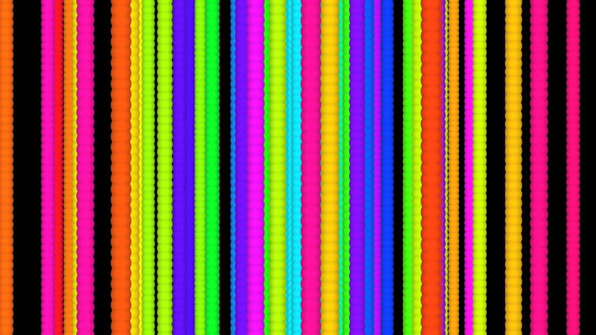 Abstract Multi Colored Horizontal Stripe Background Loop ...