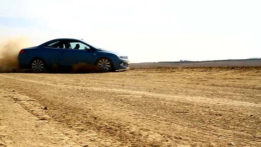 Car Drift's. Dolly Shot.