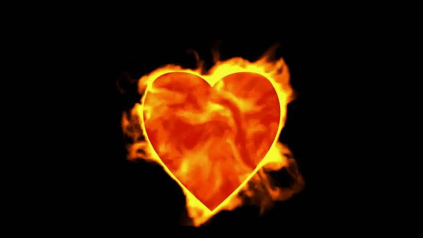 burning heart,valentine's day energy heart.