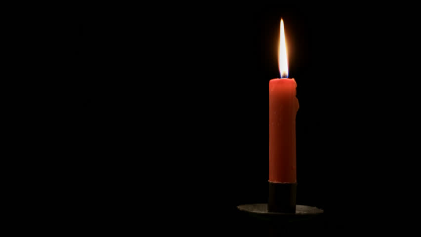 red candle black background - photo #15