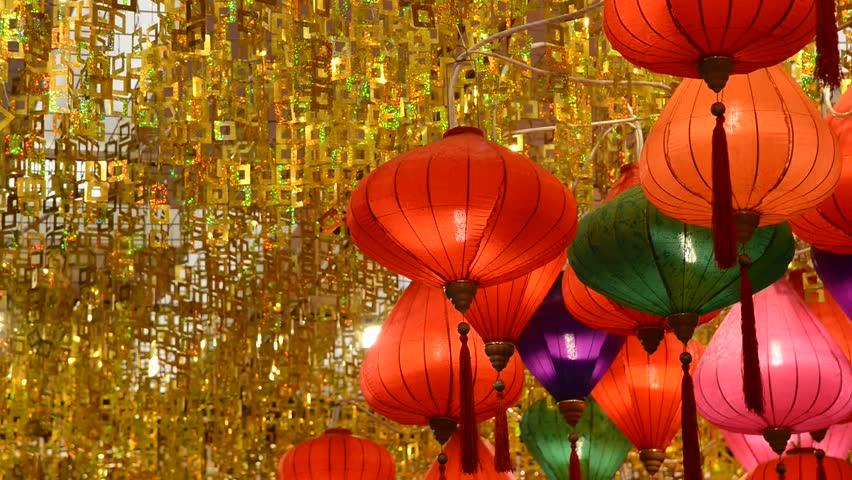 chinese colorful lantern