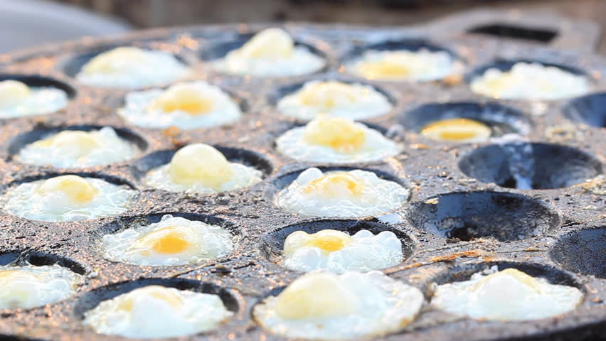 Fried egg - HD stock video clip