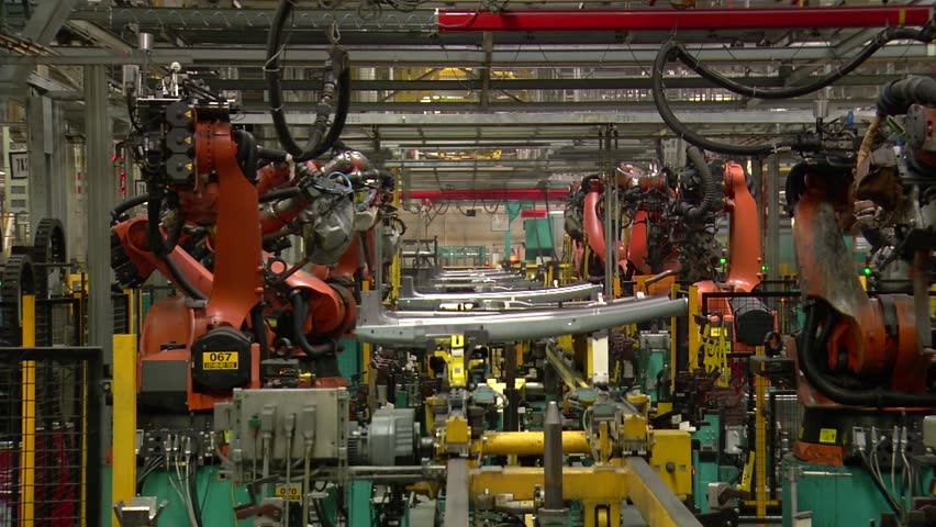 Automobile factory.Car production