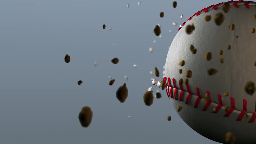 Spinning Baseball Animated Background | Shutterstock HD Video #3367931