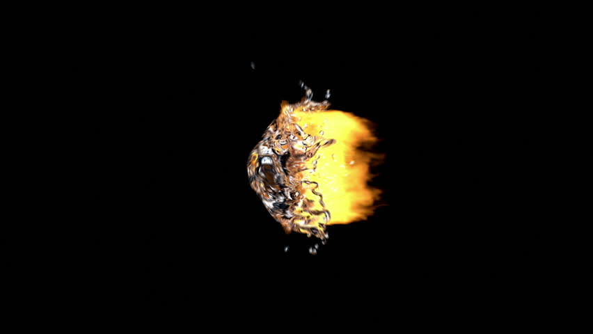 Fire and Water Explosion