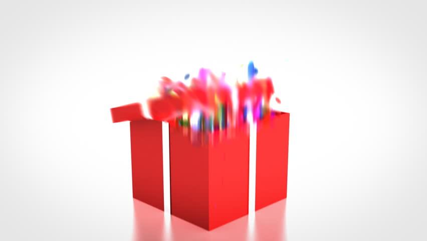 Surprise Present - HD stock video clip