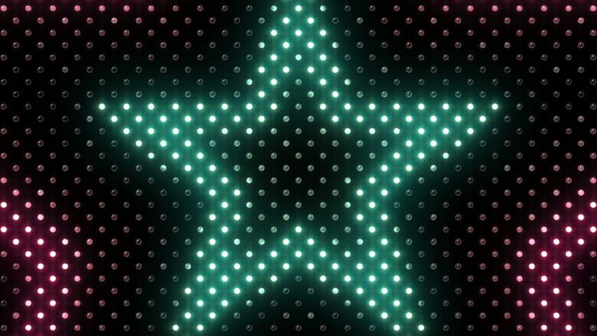 Wall Decor Led Heart : Led light wall heart stock footage