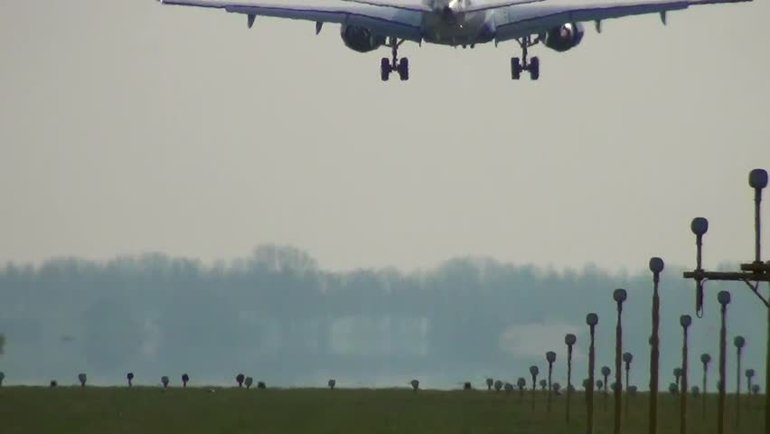 Landing - HD stock video clip