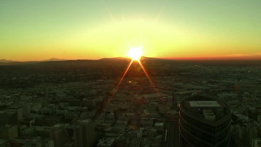Downtown LA Sunrise Time-Lapse