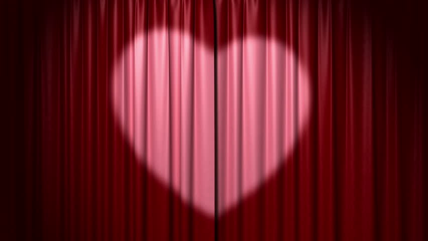 Stage Curtain Stock Footage Video - Shutterstock