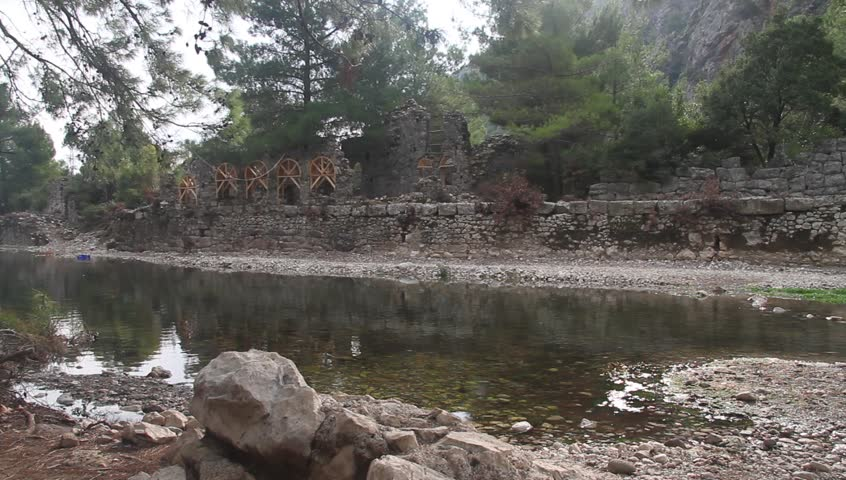 River in Olympus, Turkey - HD stock video clip