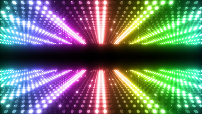 LED Light wall. | Shutterstock HD Video #3529283