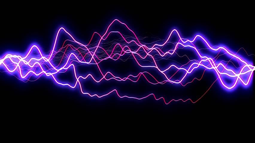 Lightning Sparks Effect - Black Background Stock Footage ...  Lightning Spark...
