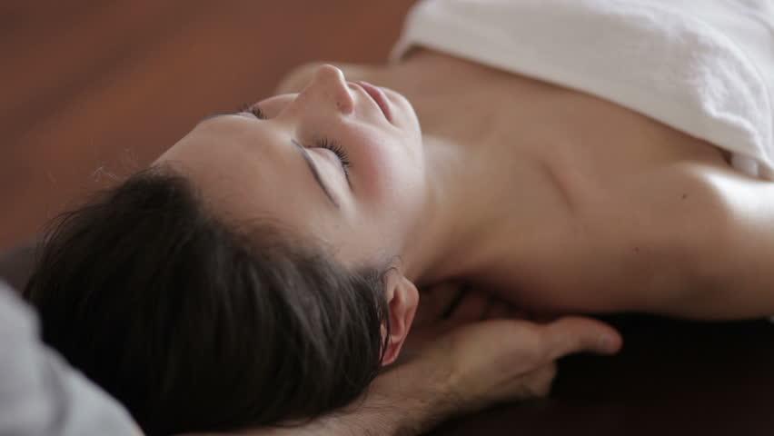 Neck massage  | Shutterstock HD Video #3560837