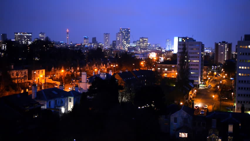 BIRMINGHAM, UNITED KINGDOM - CIRCA 2000: Timelapse Of ...