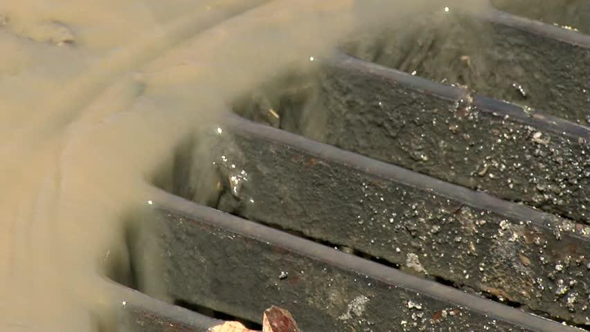 Manhole,close up shot - HD stock video clip