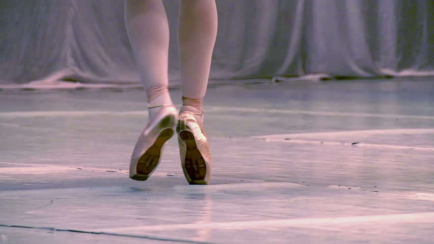 Ballet. Slow Motion at a rate of 240 fps. Ballerina shows classic ballet pas | Shutterstock HD Video #3658649