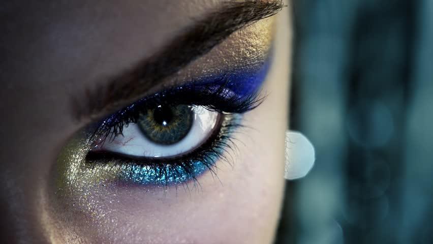 Human eye close up beauty macro | Shutterstock HD Video #3668675