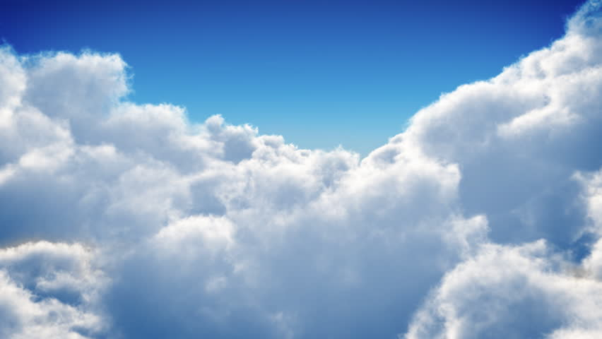 Flight over clouds, loop-able animation | Shutterstock HD Video #3671960