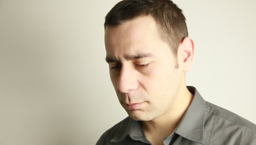 Sadness - HD stock footage clip