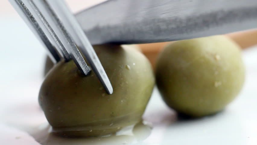 Olives - HD stock footage clip