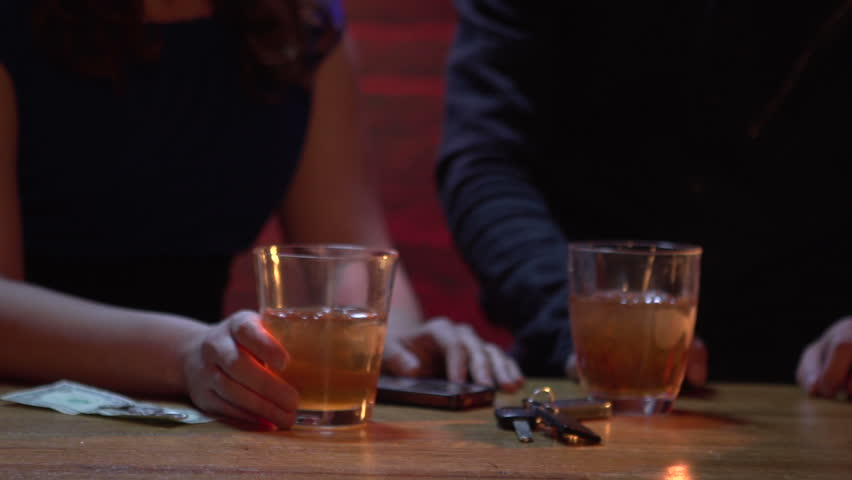 Young woman leaves her drink unattended and gets drugged on a date.