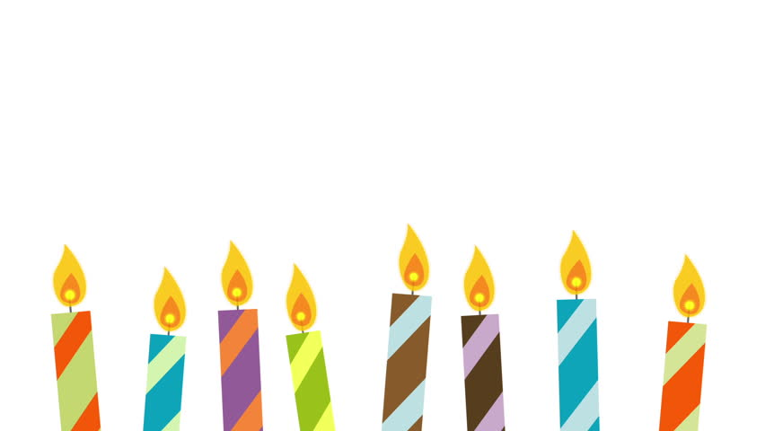 Birthday Cake Graphic  Candles