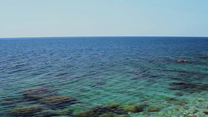Sea water - HD stock footage clip