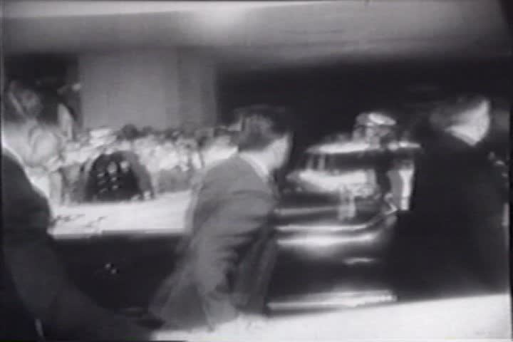 1960s - Raw silent footage of the events surrounding the John F. Kennedy assassination