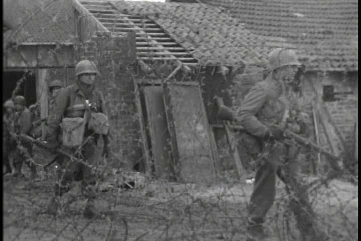 1940s - The final breakthrough by the 10th Mountain Division in its relentless push toward final victory in Italy in WWII.