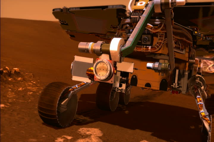 mars rover opportunity landing animation - photo #36