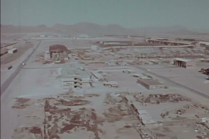 1970s - Iran has an industrial revolution under the Shah in the 1970s. - SD stock footage clip
