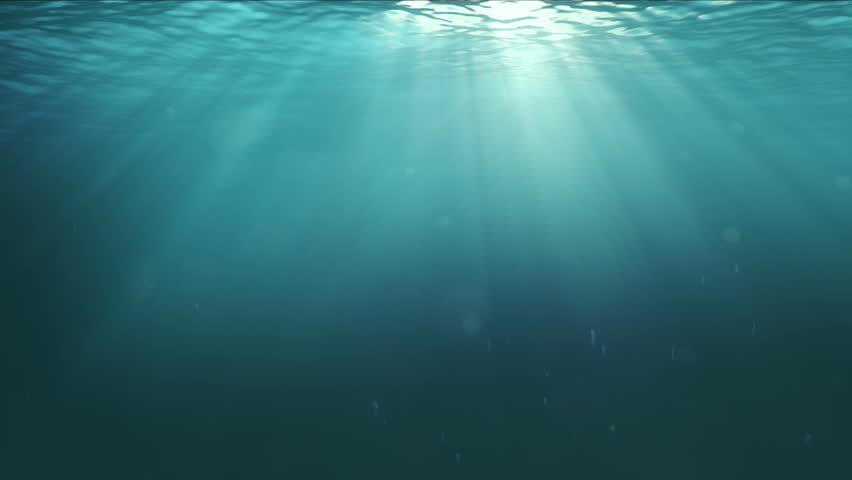Hd Deep Water Underwater Background Loopable Stock
