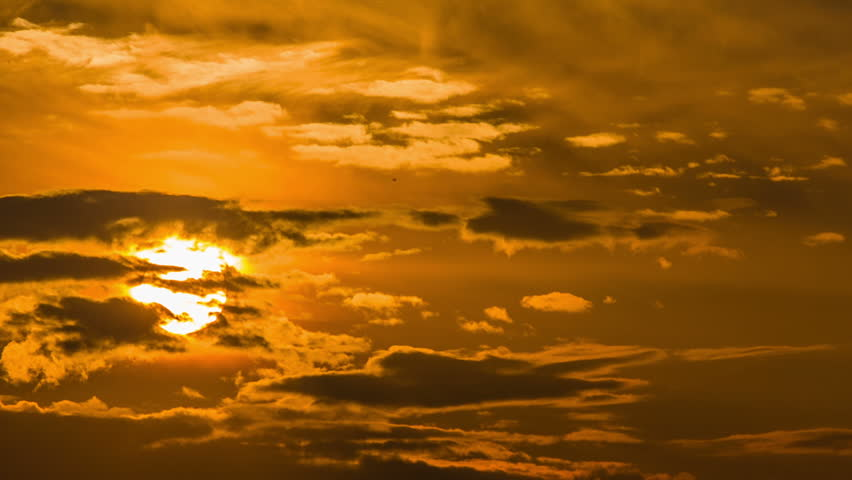 The sky at sunset | Shutterstock HD Video #4355357