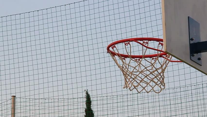 Basketball field goal - success   Shutterstock HD Video #4387406