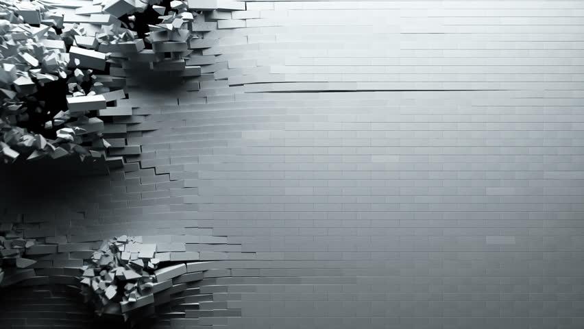 Breaking brick wall  #4387559