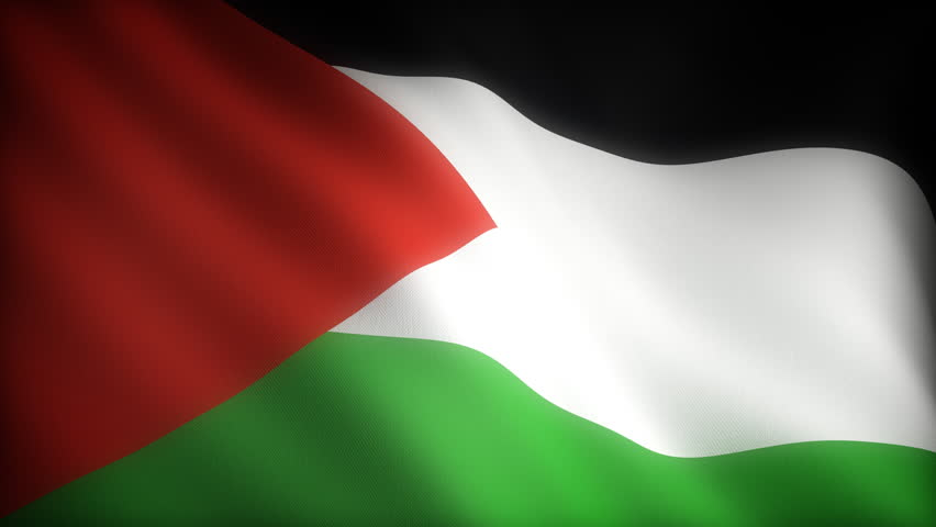 Flying flag of oman looped stock footage video 709330 shutterstock - Palestine flag wallpaper hd ...