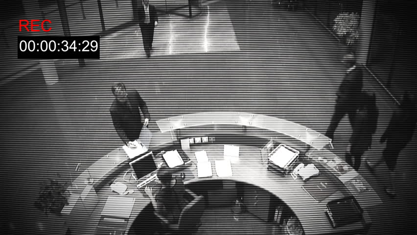 Security cam footage benny hill theme song 8