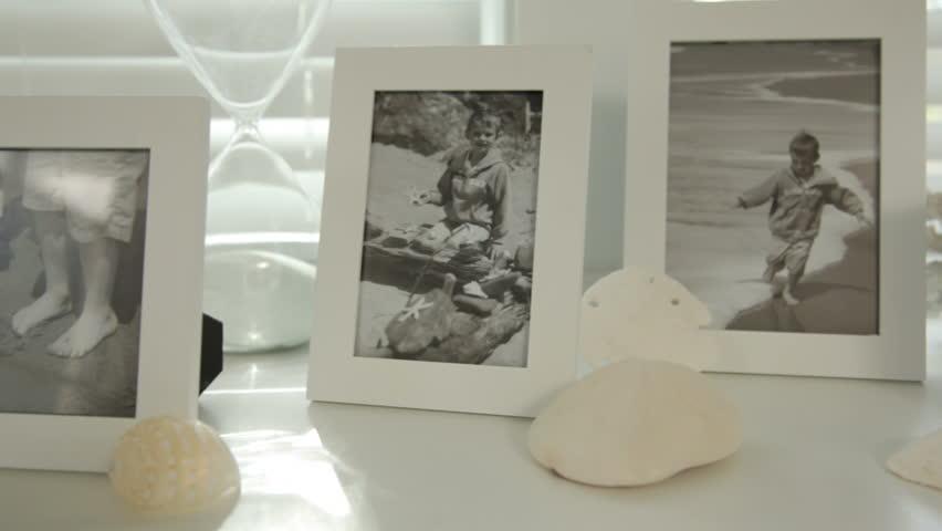 Beach house memories, family photos