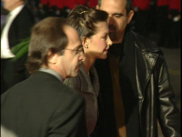HOLLYWOOD - December 14, 1997: Ashley Judd at the Titanic Premiere in the Grauman's Chinese Theatre in Hollywood December 14, 1997 - SD stock video clip