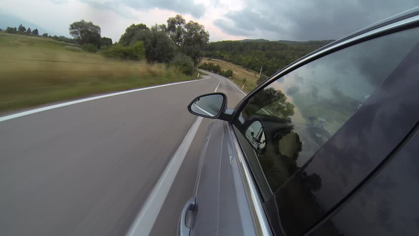 Driving on a country road | Shutterstock HD Video #4592507
