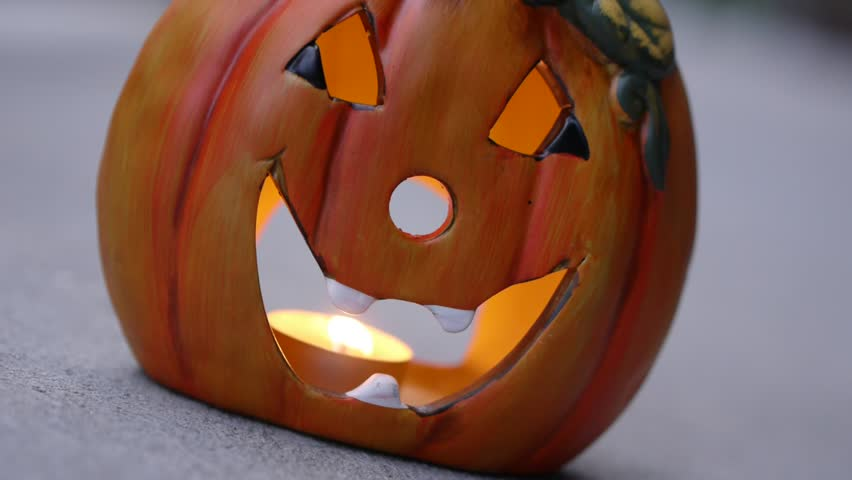 Jack o'latern.This high definition footage would fit perfectly in any Halloween documentary, film, commercial, presentation, movie etc. Don't forget to take a look at my other Halloween uploads. | Shutterstock HD Video #4613945