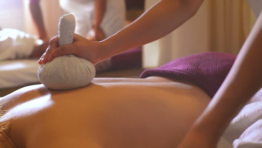 Massage using ice packet | Shutterstock HD Video #4633034