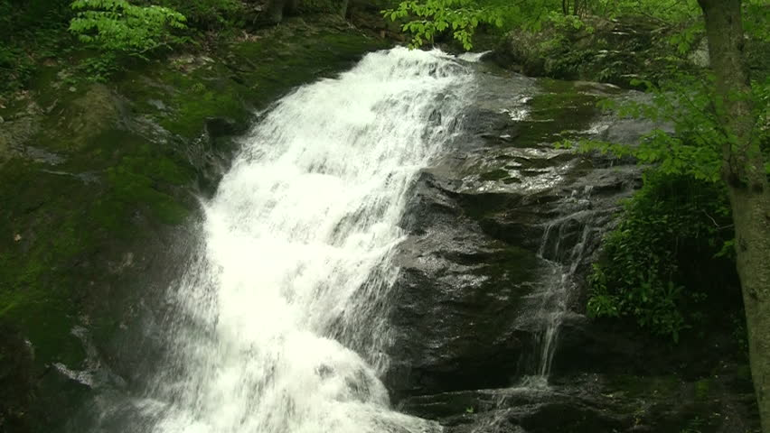 Waterfall at Crabtree Falls, Charlottesville, VA | Shutterstock HD Video #4657046
