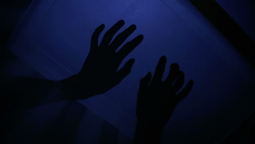 Scary Shadows on Ceiling 1 | Shutterstock HD Video #4675424