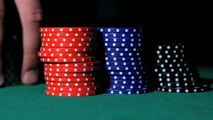 Poker bids.